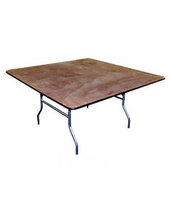 """60"""" x 60"""" Square Banquet Table"""