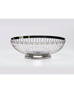 """10"""" Stainless Bread Basket"""