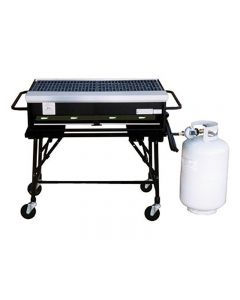 """BBQ Propane Grill 16"""" x 33"""" with Cart"""