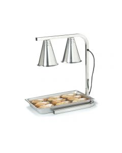 Carving Station Double heat lamp