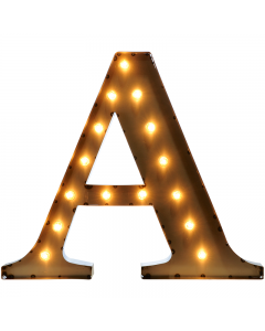 """Marquee 24"""" Letter - """"A"""""""