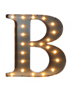 """Marquee 24"""" Letter - """"B"""""""