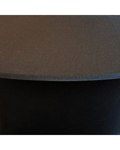 Black Spandex Cover Waiter Tray Stand