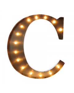 """Marquee 24"""" Letter - """"C"""""""