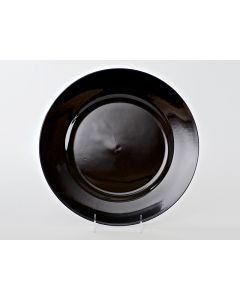 """Black Resin Service or Charger Plate 13"""""""