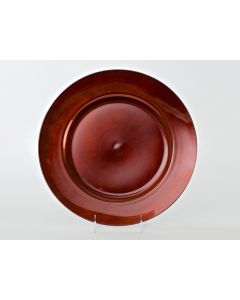 """Copper Resin Service or Charger Plate 13"""""""