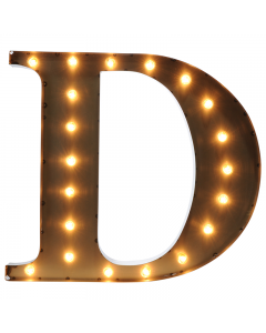 """Marquee 24"""" Letter - """"D"""""""