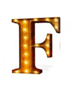 """Marquee 24"""" Letter - """"F"""""""