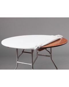 """Table Pad 30"""" Rd Fitted with Elastic"""