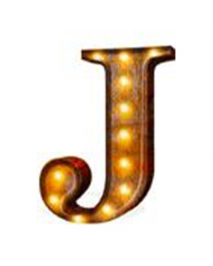 """Marquee 24"""" Letter - """"J"""""""