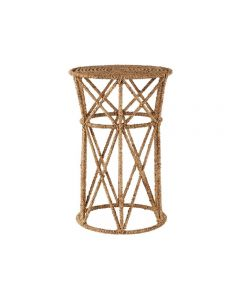Jute Natural End Table
