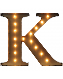 """Marquee 24"""" Letter - """"K"""""""
