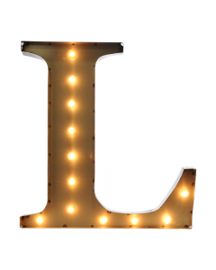 """Marquee 24"""" Letter - """"L"""""""