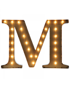 """Marquee 24"""" Letter - """"M"""""""