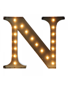 """Marquee 24"""" Letter - """"N"""""""