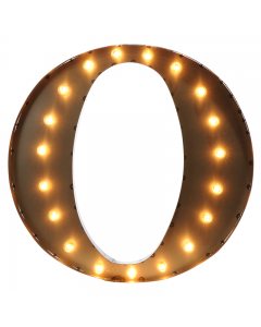 """Marquee 24"""" Letter - """"O"""""""