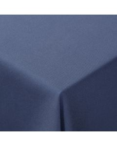 """Classic Periwinkle 132"""" Round Linen"""