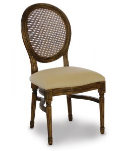 Provence Woven Back Chair with Pad
