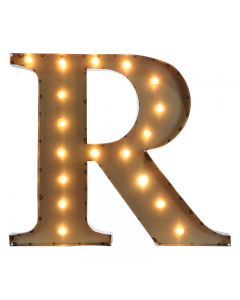 """Marquee 24"""" Letter - """"R"""""""