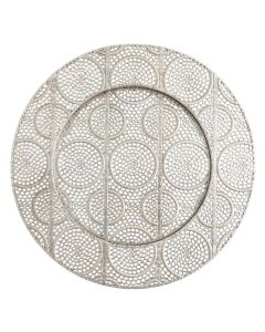 """Roma Silver Service or Charger Plate 13"""""""