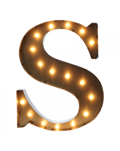 """Marquee 24"""" Letter - """"S"""""""
