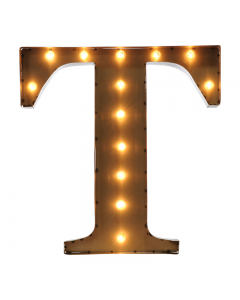 """Marquee 24"""" Letter - """"T"""""""