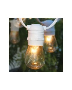 White Cafe String Lights, Per Foot