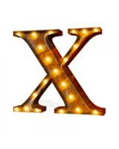"""Marquee 24"""" Letter - """"X"""""""