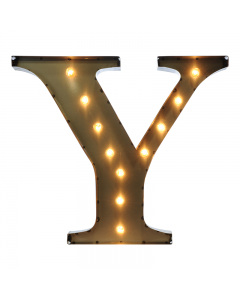 """Marquee 24"""" Letter - """"Y"""""""