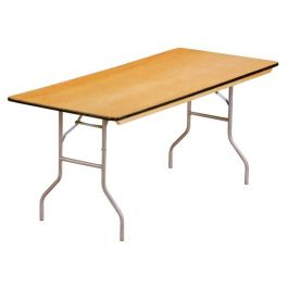 """6' x 30"""" Banquet Table"""